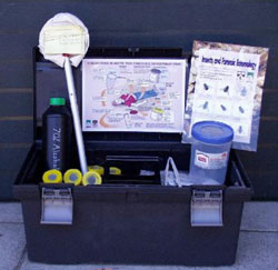 Forensic entomologist kit